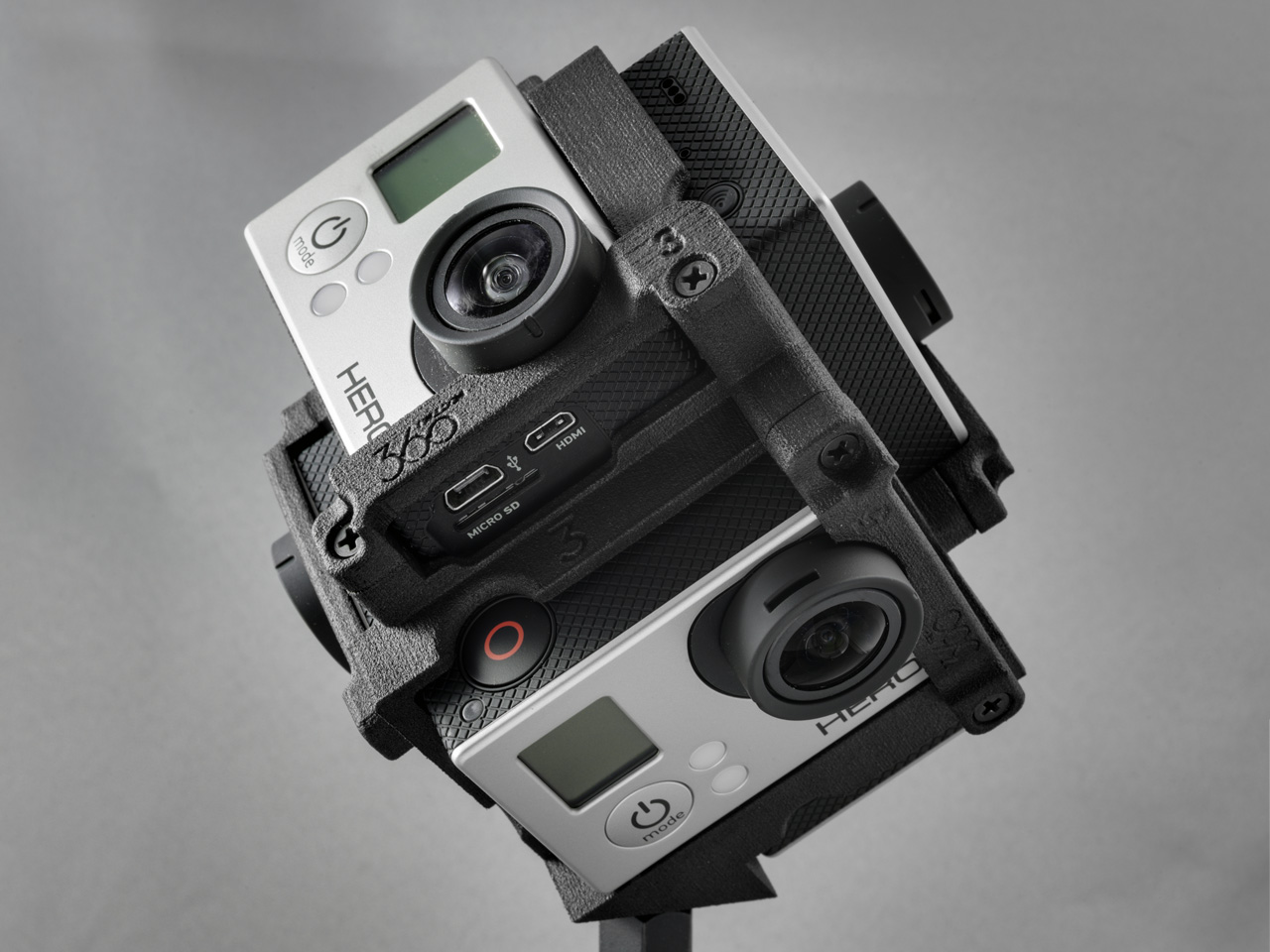 360 Degree Gopro Rig