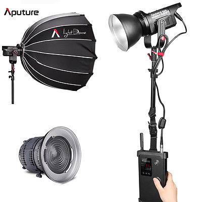 Aputure Light Storm LS C120d LED Light Kit with V-Mount Battery Plate
